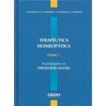 Terapeutica Homeopatica Tomo 1