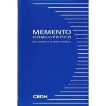 Memento Homeopatico Del Sintoma A La Materia Medica