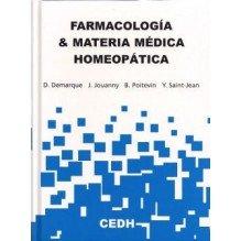 Farmacologia Y Materia Medica Homeopatica