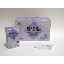 Agujas De Acupuntura Coreanas  Mango Rizado Envase Individual Diferentes Tamaños