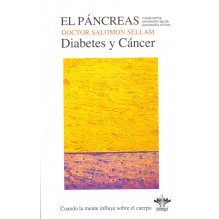 portada El Páncreas. Diabetes y Cáncer. Por Salomon Sellam. ISBN 9782370660152