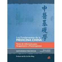 PORTADA Los Fundamentos de la Medicina China. Por Giovanni Maciocia. ISBN 9788484455301