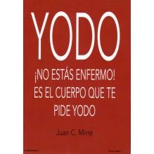 portada Yodo. por Juan C. Mirre. ISBN 9788494230943