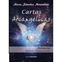 Cartas Arcangélicas (libro + baraja). Por Alicia Sánchez Montalbán. ISBN: 9788415465522