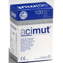Agujas de acupuntura Marca ACIMUT 0,26x25mm