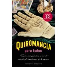 Quiromancia para todos (Cheiro) Ed. Obelisco  ISBN: 9788491111092