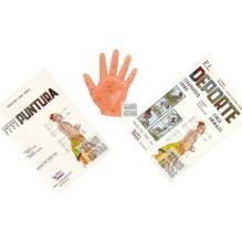 Pack 2 libros de Medicina China + modelo de manopuntura