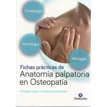 Fichas prácticas de anatomía palpatoria en osteopatía (Color)