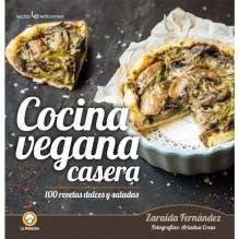 Cocina vegana casera, por Zaraida Fernández. Editorial Lectio