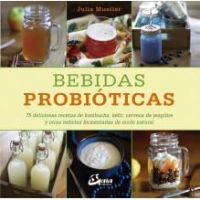 Bebidas probióticas, por Julia Mueller, Gaia Ediciones