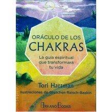 Oráculo de los chakras, por  Tori Hartman. Editorial Arkano Books