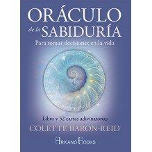 Oráculo de la sabiduría, por Colette Baron-Reid. Editorial: Arkano Books
