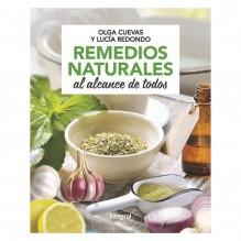 Remedios naturales al alcance de todos, por Olga Cuevas Fernández y Lucia Redondo Cuevas. Editorial Integral (RBA)