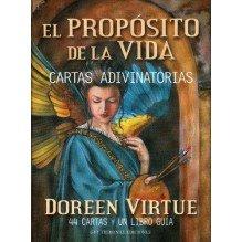 El Propósito de la Vida (libro guía + baraja), por Doreen Virtue y Charles Virtue. Guy Trédaniel ediciones