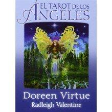 El Tarot De Los Ángeles  (libro guía + baraja), por Doreen Virtue y Radleigh Valentine. Guy Trédaniel ediciones