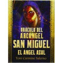 Oraculo Del Arcángel San Miguel. El Ángel Azul  (libro guía + baraja), por Toni Carmine Salerno. Guy Trédaniel ediciones