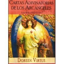 Cartas Adivinatorias De Los Arcángeles (LIBRO + BARAJA), editorial Guy Tredaniel