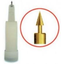 Agujas Semipermanentes De Auriculoterapia Asp Con Inyector Y Con Baño En Oro 80