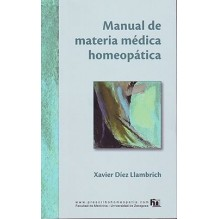 Manual De Materia Medica Homeopatica